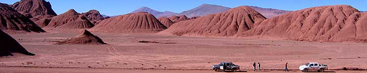 4x4 adventure travel Andes Argentina